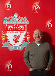 KIRKBY, LIVERPOOL - Tuesday, April 23, 2013: Liverpool Football Club's Academy Director Frank McParland photographed at the club's Kirkby Academy. (Pic by David Rawcliffe/Propaganda)