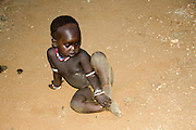 Africa, Ethiopia, Omo River Valley Hamer Tribe young child