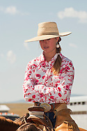 Cowgirl, Wilsall Ranch Rodeo, Montana, Lilly Brogger, MODEL RELEASED, PROPERTY RELEASED