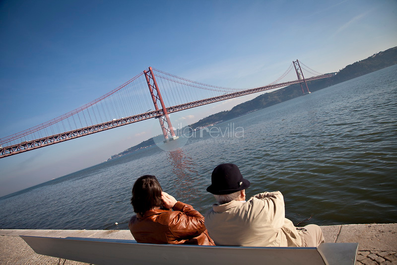 25th April Bridge inTagus river, Lisbon, Portugal ©Carlos Sanchez Pereyra / PILAR REVILLA