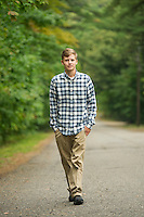Jake N senior portrait session at Gunstock.  ©2016 Karen Bobotas Photographer