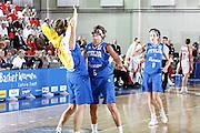 DESCRIZIONE : Valmiera Latvia Lettonia Eurobasket Women 2009 Italia Bielorussia Italy Belarus<br /> GIOCATORE : Chiara Pastore Raffaella Masciadri Simona Ballardini<br /> SQUADRA : Italia Italy<br /> EVENTO : Eurobasket Women 2009 Campionati Europei Donne 2009 <br /> GARA :  Italia Bielorussia Italy Belarus<br /> DATA : 09/06/2009 <br /> CATEGORIA : esultanza<br /> SPORT : Pallacanestro <br /> AUTORE : Agenzia Ciamillo-Castoria/E.Castoria