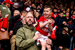 Bristol City fans at Hull City - Mandatory by-line: Robbie Stephenson/JMP - 05/05/2019 - FOOTBALL - KCOM Stadium - Hull, England - Hull City v Bristol City - Sky Bet Championship