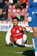10.05.2007, Anjalankoski, Finland..Veikkausliiga 2007 - Finnish League 2007.Myllykosken Pallo-47 - FF Jaro.Gao Leilei - MyPa.©Juha Tamminen.....ARK:k