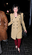 31.MARCH.2011. LONDON<br /> <br /> CARLA GUGINO LEAVING BOCCA DI LUPO RESTAURANT IN SOHO BEFORE HEADING TO CHINAWHITES NIGHT CLUB AND THEN LEFT THERE TO HEAD TO THE BOX NIGHT CLUB IN SOHO BEFORE CALLING IT A NIGHT AT 2.00AM.<br /> <br /> BYLINE: EDBIMAGEARCHIVE.COM<br /> <br /> *THIS IMAGE IS STRICTLY FOR UK NEWSPAPERS AND MAGAZINES ONLY*<br /> *FOR WORLD WIDE SALES AND WEB USE PLEASE CONTACT EDBIMAGEARCHIVE - 0208 954 5968*
