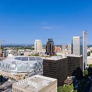 Aerial 4K, Phantom 4, Video, Downtown Sacramento, Golden1 Arena, Capital, Photographer, Videographer, Film Maker