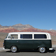 Volkswagen Bus in Nevada