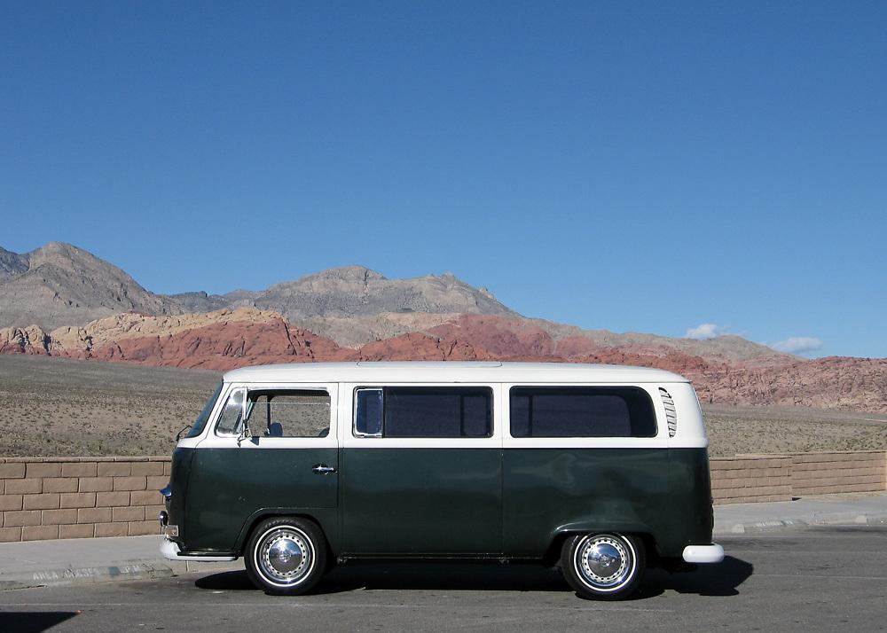 Volkswagen Bus in Nevada
