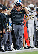 WEST LAFAYETTE, IN - SEPTEMBER 15: Head coach Barry Odom of the Missouri Tigers is seen during the game against the Purdue Boilermakers at Ross-Ade Stadium on September 15, 2018 in West Lafayette, Indiana. (Photo by Michael Hickey/Getty Images) *** Local Caption *** Barry Odom NCAA Football - Purdue Boilermakers vs Missouri Tigers at Ross-Ade Stadium in West Lafayette, Indiana. Sports photographer by Michael Hickey