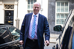 © Licensed to London News Pictures. 21/05/2019. London, UK. Transport Secretary Chris Grayling leaves 10 Downing Street after the Cabinet meeting. Prime Minister Theresa May is expected to make a statement to Paliament outlining changes to the Withdrawal Agreement Bill before it is brought back before Parliament. Photo credit: Rob Pinney/LNP