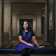 Leslie Ureña, assistant curator of photographs, National Portrait Gallery, Washington, D.C. For Northwestern University Magazine
