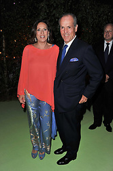 MASSIMO & SARA CARELLO at a dinner hosted by Cartier in celebration of the Chelsea Flower Show held at Battersea Power Station, 188 Kirtling Street, London SW8 on 23rd May 2011.