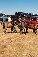 Fort Belknap Indian Reservation, Montana, kids, Shetland Ponies