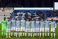 """Foto LaPresse/Filippo Rubin<br /> 28/11/2017 Ferrara (Italia)<br /> Sport Calcio<br /> Spal - Cittadella - Coppa Italia 2017/2018 - Stadio """"Paolo Mazza""""<br /> Nella foto: FOTO SQUADRA SPAL<br /> <br /> Photo LaPresse/Filippo Rubin<br /> November 28, 2017 Ferrara (Italy)<br /> Sport Soccer<br /> Spal - Cittadella - Italy's Cup 2017/2018 - """"Paolo Mazza"""" Stadium <br /> In the pic: SPAL TEAM PHOTO"""