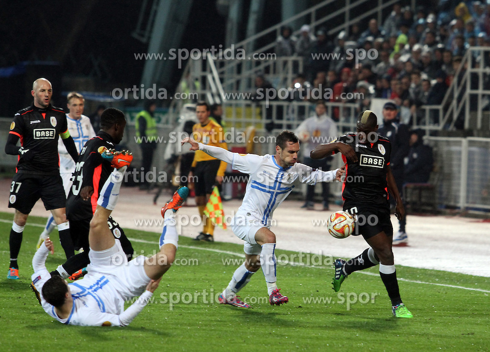 27.11.2014, Stadium Kantrida, Rijeka, CRO, UEFA EL, HNK Rijeka vs FC Standard Liege, Gruppe G, im Bild // during the UEFA Europa Lduring the UEFA Europa League group G match between HNK Rijeka and FC Standard Liege at the Stadium Kantrida in Rijeka, Croatia on 2014/11/27. EXPA Pictures © 2014, PhotoCredit: EXPA/ Pixsell/ Goran Kovacic<br /> <br /> *****ATTENTION - for AUT, SLO, SUI, SWE, ITA, FRA only*****