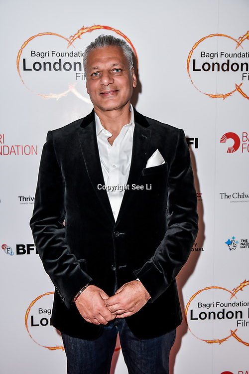 Tony Matharu of Integrity International,Festival Patron arrives at London Indian Film Festival world premiere of Anubhav Sinha's 'Article 15' at Picturehouse Central, on 20 June 2019, London , UK.