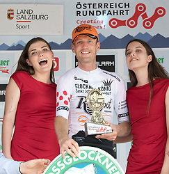 07.07.2017, St. Johann Alpendorf, AUT, Ö-Tour, Österreich Radrundfahrt 2017, 5. Etappe von Kitzbühel nach St. Johann/Alpendorf (212,5 km), im Bild Pieter Weening (NED, Roompot Nederlandse Loterij) Glocknerkönig // Pieter Weening of Nederlands (Roompot Nederlandse Loterij) Glocknerkoenig during the 5th stage from Kitzbuehel to St. Johann/Alpendorf (212,5 km) of 2017 Tour of Austria. St. Johann Alpendorf, Austria on 2017/07/07. EXPA Pictures © 2017, PhotoCredit: EXPA/ Reinhard Eisenbauer