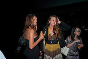 LAUREN BUDD; BRYONY DANIELLE,  Nokia and Daid Bailey celebrate London ' Alive at Night' to launch Nokia N86. the Old Dairy, 6 Wakefield st. London. WC1. 26 August 2009.