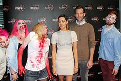 © Licensed to London News Pictures. Edinburgh Cineworld. Edinburgh International Film Festival, Aubrey Plaza, Jeff Baena,zombies,  LIFE AFTER BETH,  26/06/2014, Photo Credit: M.Pocwiardowski/LNP