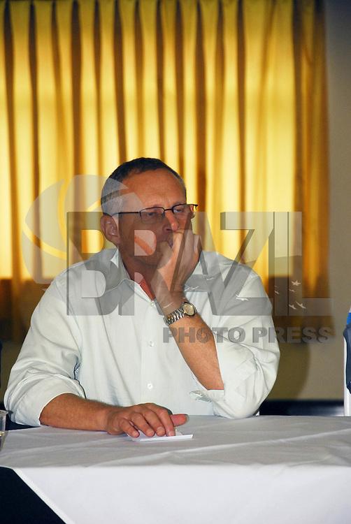 NITER&Oacute;I - RJ 20 DE JUNHO 2012 - Nesta manh&atilde; 20 de junho na cidade de Niter&oacute;i, a c&uacute;pula da segura&ccedil;a p&uacute;blica se reune com Luiz Mariano Beltrame, secret&aacute;rio de seguran&ccedil;a publica do Estado do Rio de Janeiro. Assunto:  Seguran&ccedil;a na cidade de Niter&oacute;i - RJ<br /> FOTO RONALDO BRAND&Atilde;O/BRASIL PHOTO PRESS