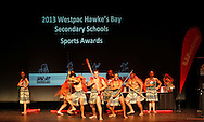 2013 Westpac Hawke's Bay Secondary Schools Sports Awards, held at the Opera House, Hastings, New Zealand, Monday, November 04, 2013. Credit: alphapix / John Cowpland