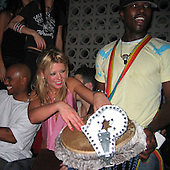 Tara Reid Partying NYC 11/01/2003