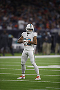 Miami Dolphins free safety Minkah Fitzpatrick (29) in action during the NFL week 8 regular season football game against the Houston Texans on Thursday, Oct. 25, 2018 in Houston. The Texans won the game 42-23. (©Paul Anthony Spinelli)