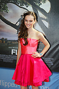 Actress Madeline Carroll is seen at the Flipped premier screening at the Hilbert Theater in Indianapolis, Indiana..Entertainment Photography by Michael Hickey