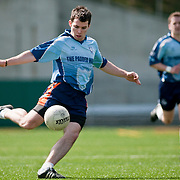 April 18, 2010 - Bronx, NY : Sean McGrath, a Manhattan College student and member of the New York Gaelic Athletic Association's Dublin squad, competes against the Astoria Gaels on April 18.
