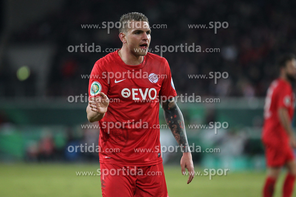 04.03.2015, Sparda Bank Hessen Stadion, Offenbach, GER, DFB Pokal, Kickers Offenbach vs Borussia Moenchengladbach, Achtelfinale, im Bild Christian Cappek (Offenbach) // during German DFB Pokal last sixteen match between Kickers Offenbach and Borussia Moenchengladbach at the Sparda Bank Hessen Stadion in Offenbach, Germany on 2015/03/04. EXPA Pictures &copy; 2015, PhotoCredit: EXPA/ Eibner-Pressefoto/ Roskaritz<br /> <br /> *****ATTENTION - OUT of GER*****