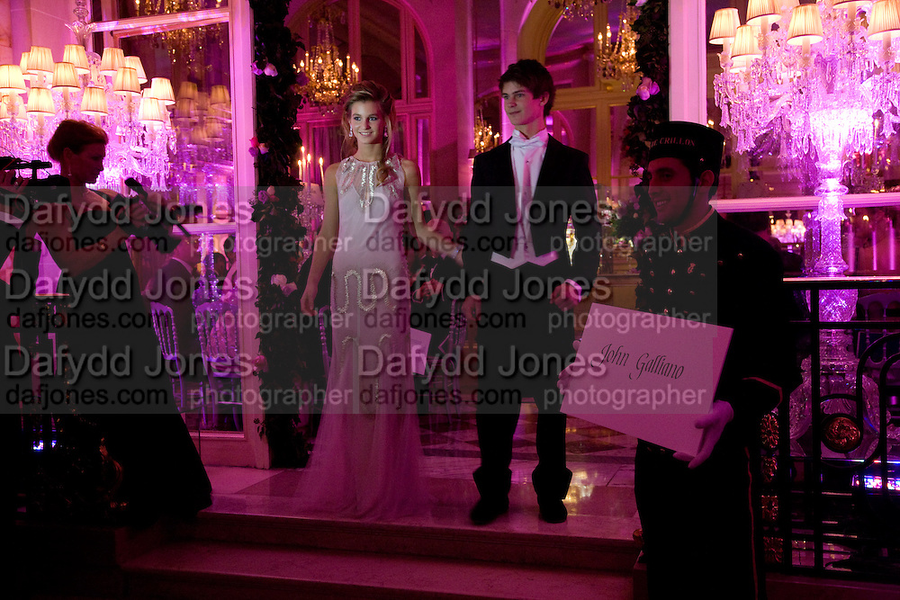 MARGUERITE DE TAVERNOST; FRANCOIS DE TAVERNOST, The 2008 Crillon Debutante Ball, Crillon Hotel. Paris. 29 November 2008 *** Local Caption *** -DO NOT ARCHIVE -Copyright Photograph by Dafydd Jones. 248 Clapham Rd. London SW9 0PZ. Tel 0207 820 0771. www.dafjones.com