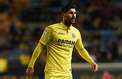 November 30, 2017 - Vila-Real, Castellon, Spain - Roberto Soriano of Villarreal CF looks on during the Copa del Rey, Round of 32, Second Leg match between Villarreal CF and SD Ponferradina at Estadio de la Ceramica on november 30, 2017 in Vila-real, Spain. (Credit Image: © Maria Jose Segovia/NurPhoto via ZUMA Press)