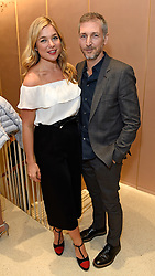 Kate Bryan and Charming Baker at a party to celebrate the collaboration of J&M Davidson and Tanya Lingheld at J&M Davidson, 104 Mount Street, London on 18th October 2016.