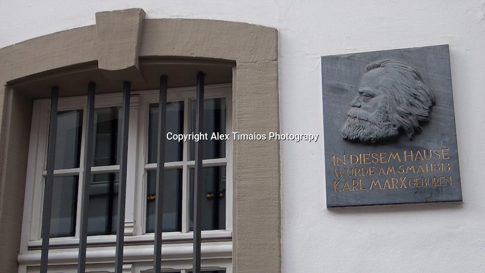 Karl Marx was born in Trier