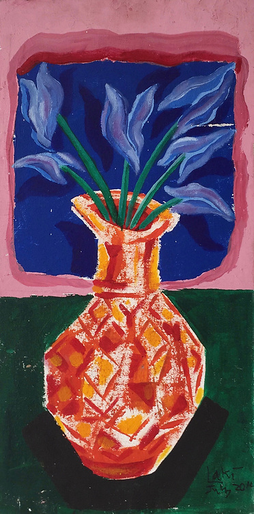 Laki. Flower Vase.<br />