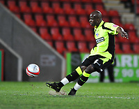 Reuben Hazell of Oldham Athletic<br /> Cheltenham Town vs Oldham Athletic<br /> Coca Cola League One, Whaddon Road, Cheltenham<br /> 24/03/2009. Credit Colorsport/Dan Rowley