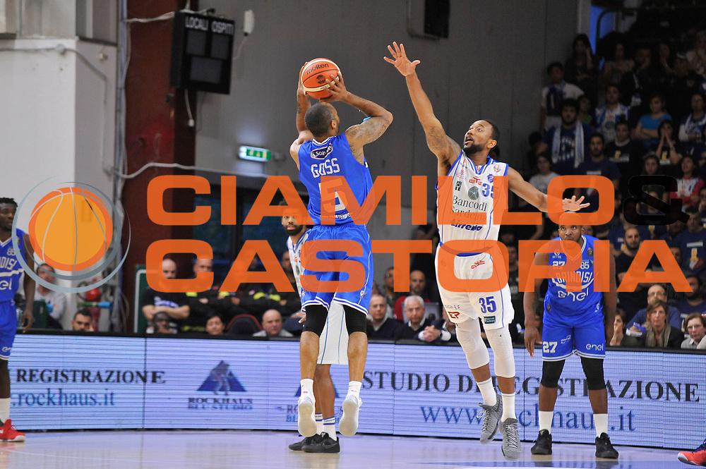 Phil Goss<br /> Banco di Sardegna Dinamo Sassari - Enel New Basket Brindisi<br /> LegaBasket Serie A LBA Poste Mobile 2016/2017<br /> Sassari 02/04/2017<br /> Foto Ciamillo-Castoria