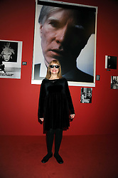 """BIBBE HANSEN muse and friend of Andy Warhol at an exhibition of work by Andy Warhol entitled """"Other Voices, Other Rooms"""" at The Hayward Gallery, Southbank Centre, London SE1 on 6th October 2008."""