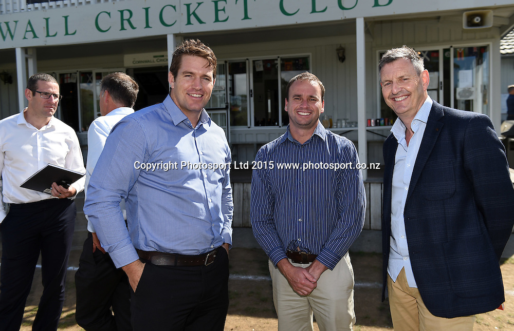 Sport New Zealand Sector Strategy Launch. Cornwall Park Cricket Clubrooms, Auckland, New Zealand. Friday 20 March 2015. Photo: www.photosport.co.nz