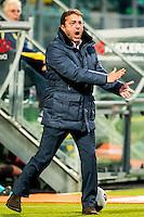 DEN HAAG - 30-10-2016, ADO Den Haag - AZ , Kyocera Stadion, ADO Den Haag trainer coach Zeljko Petrovic