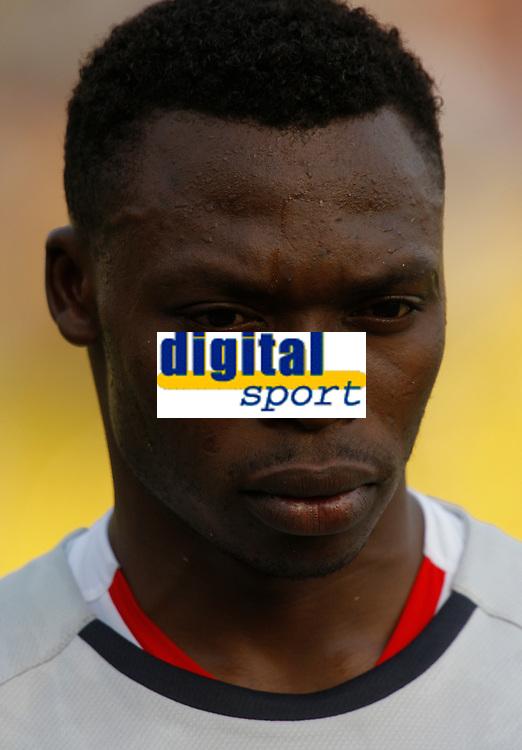 Photo: Steve Bond/Richard Lane Photography.<br />Egypt v Cameroun. Africa Cup of Nations. 22/01/2008. Keeper Carlos Kameni of Cameroon & Espanyol