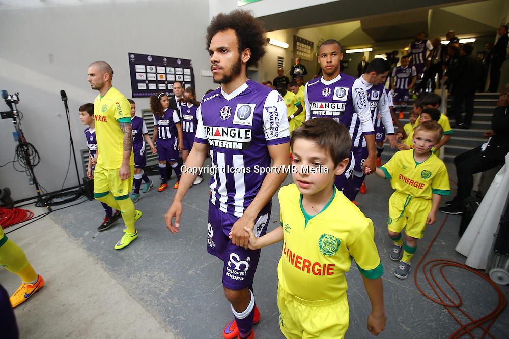 Martin Braithwaite - 25.04.2015 - Toulouse / Nantes - 34eme journee de Ligue 1<br />Photo : Manuel Blondeau / Icon Sport