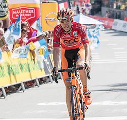 07.07.2017, St. Johann Alpendorf, AUT, Ö-Tour, Österreich Radrundfahrt 2017, 5. Etappe von Kitzbühel nach St. Johann/Alpendorf (212,5 km), im Bild Felix Grossschartner (AUT, Team CCC Sprandi Polkowice) // Felix Grossschartner of Austria (CCC Sprandi Polkowice) during the 5th stage from Kitzbuehel to St. Johann/Alpendorf (212,5 km) of 2017 Tour of Austria. St. Johann Alpendorf, Austria on 2017/07/07. EXPA Pictures © 2017, PhotoCredit: EXPA/ Reinhard Eisenbauer