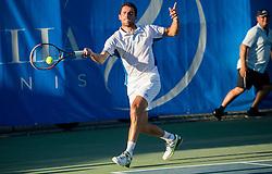 David Guez of France during 1st Round of ATP Challenger Tilia Slovenia Open 2016, on August 8, 2016 in Portoroz/Portorose, Slovenia. Photo by Vid Ponikvar / Sportida