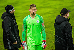 Vid Belec of Slovenia during friendly football match between National teams of Slovenia and Belarus, on March 27, 2018 in SRC Stozice, Ljubljana, Slovenia. Photo by Vid Ponikvar / Sportida