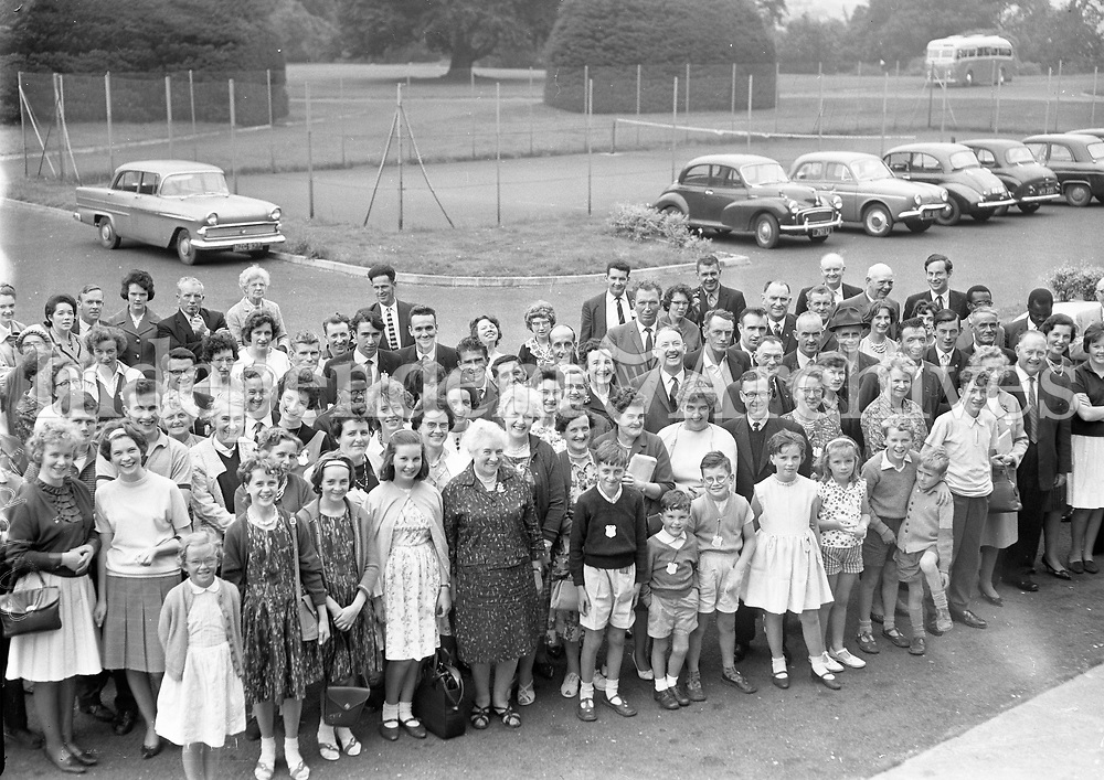 R29763<br /> Some of the attendance at the Muintir na Tire Week at Gormanstown College. August 16 1964.<br /> (Part of the Independent Ireland Newspapers/NLI Collection)