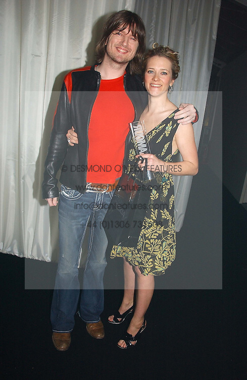EDITH BOWMAN and DANNY McNAMARA at the 2006 Glamour Women of the Year Awards 2006 held in Berkeley Square Gardens, London W1 on 6th June 2006.<br />