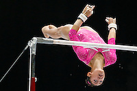 Kyla Ross of the U.S. competes on the Uneven Bars during the women's all around final at the Artistic Gymnastics World Championships in Antwerp, Belgium, 04 October 2013.