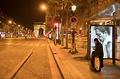 Lockdown Nighttime Coronavirus Paris