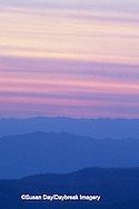 66745-01704 Sunset at Clingmans Dome Great Smoky Mtn NP   NC